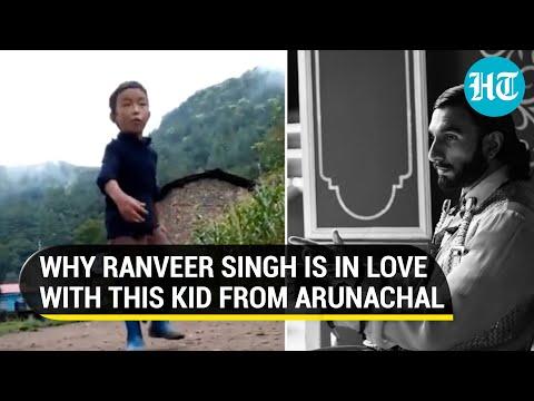 Viral video: Ranveer finds his 'spirit animal' in boy from Arunachal; Deepika Padukone reacts