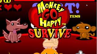 Monkey GO Happy Survive Playthrough