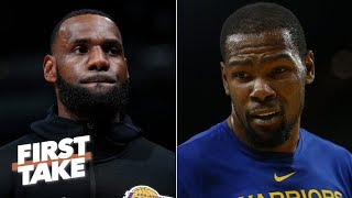 Kevin Durant would be making a mistake if he joins LeBron, Lakers - Stephen A. | First Take