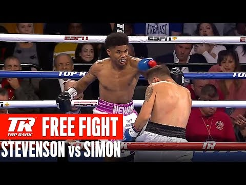 FREE FIGHT | Shakur Stevenson vs Viorel Simion