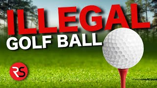 I bought some ILLEGAL golf balls!