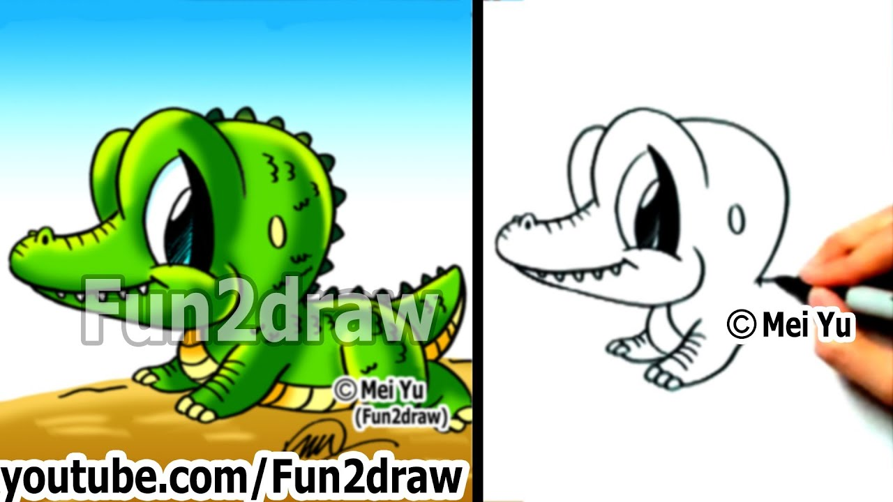 How to Draw Cartoon Characters Easy - How to Draw a ... - photo#29