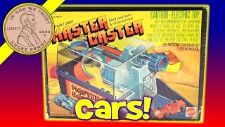Mattel 1979 Master Caster Toy Formula 1 Mold Your Own Car Kids Maker Set