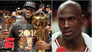 LeBron James or Michael Jordan: Who is the G.O.A.T.? LeBron says it's him | ESPN Voices