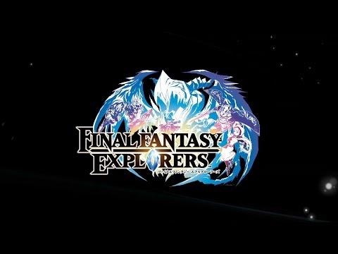 Final Fantasy Explorers - Trailer TGS2014