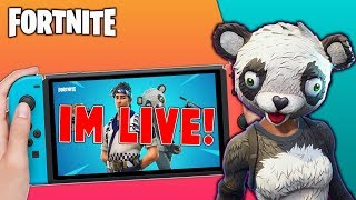 🔴 Pro Fortnite Nintendo Switch Player // Pro solo Matches // Wins Unknown // New Panda Skin + Tips!