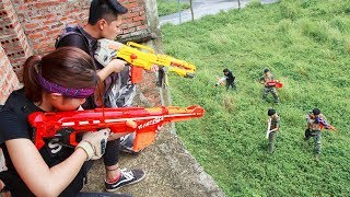 Nerf Guns War : The Men Of SEAL TEAM Special Fight The Pursuit Of Criminal Groups