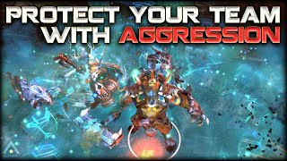 Dota 2: How to Protect Your Greedy Cores (feat. Liquid.GH)   Pro Dota 2 Guides