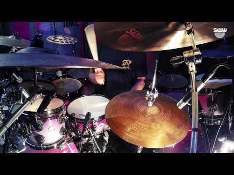 "Virgil Donati Presents MORE BIG & UGLY  Featuring SABIAN 16 "" & 14""  AA Apollo Hats"