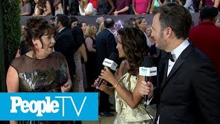 Ann Dowd Talks 'Handmaid's Tale' On-Set Antics: 'We're Up To No Good' | Emmys 2018 | PeopleTV