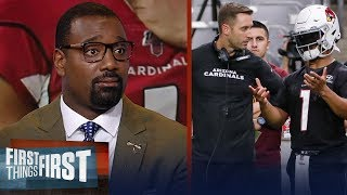Cardinals not showing offensive plan in preseason is a misstep - Canty | NFL | FIRST THINGS FIRST