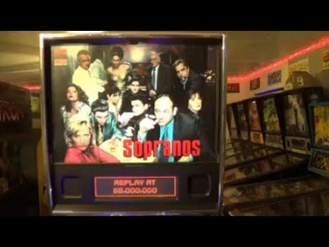 the sopranos pinball machine