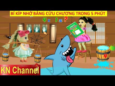 BÍ KÍP NHỚ BẢNG CỬU CHƯƠNG CỰC NHANH BẰNG TRÒ CHƠI Math For Kids 2 KN Channel VUI NHỘN THÔNG MINH