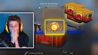 TOP 5 MOST EXPENSIVE UNBOXINGS FROM DANGER ZONE CASE! +$2500