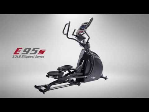 video SOLE E95S Elliptical with Adjustable Stride Length and Bluetooth Capability