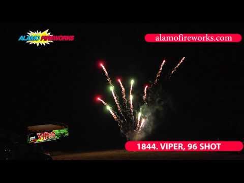 1844 Viper 96 Shot - Alamo Fireworks