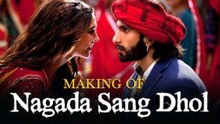 Nagada Sang (Unseen Song Making)   Goliyon Ki Raasleela Ram-leela   Deepika Padukone & Ranveer Singh