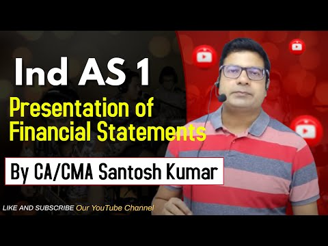video Corporate Financial Reporting (CFR) By Santosh Kumar CMA Final Regular COC