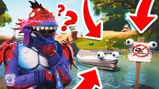 *NEW* MOISTY MERMAN Plays Hide N Seek in MOISTY PALMS! (Fortnite Prop Hunt)