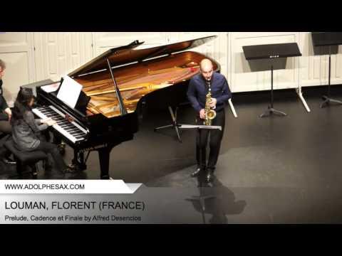 Dinant 2014 - Louman, Florent - Prelude, Cadence et Finale by Alfred Desenclos