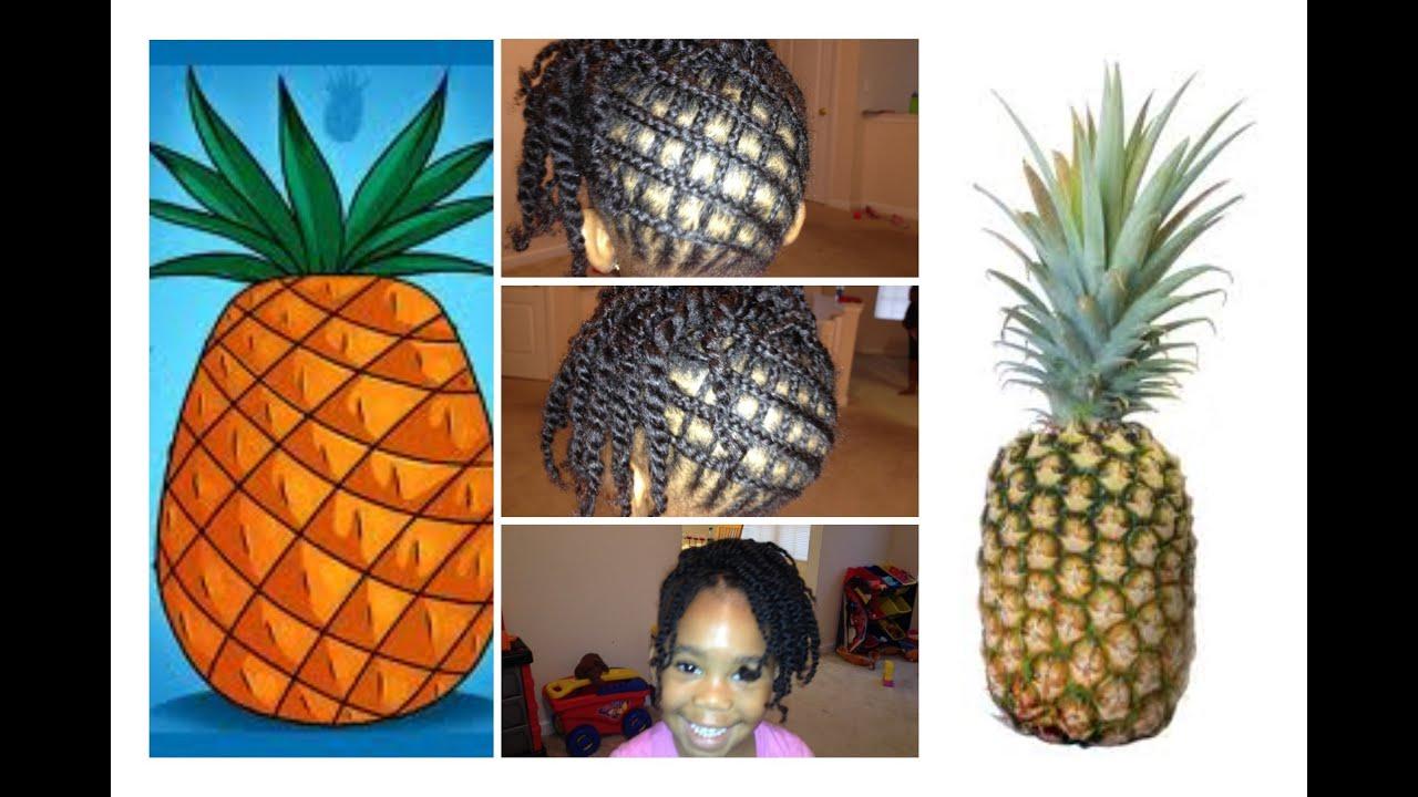 How To Braid Hair Criss Cross Tutorial Pineapple Youtube
