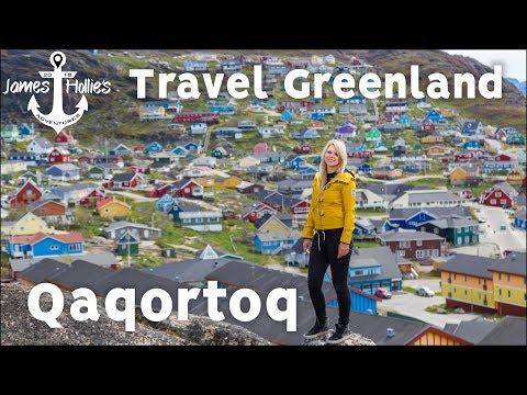 TRAVEL GREENLAND - Exploring Qaqortoq | Barbster360 Travel Vlog - Holland America Cruise