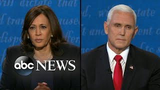 Harris, Pence respond to child's question on how Democrats, Republicans can get along
