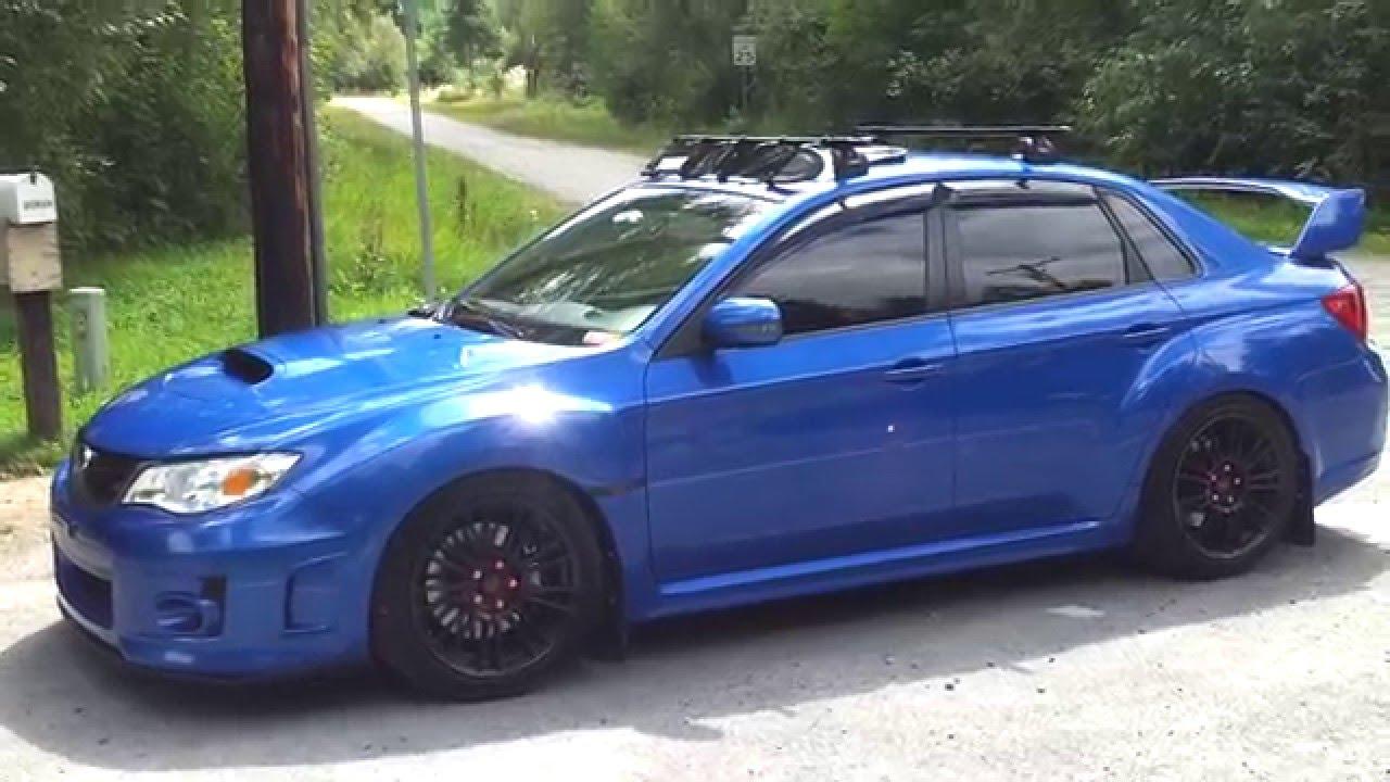 2012 Subaru Wrx Sti Lowered Youtube