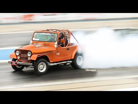 Jeep CJ-7 with a Supercharged V8 - engineswapdepot com