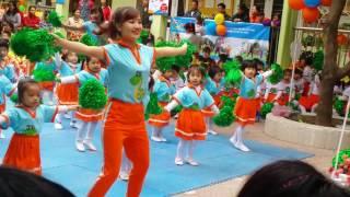 Video đồng diễn Mẫu giáo bé - Lớp C2 - Trường Mầm non Sơn Ca