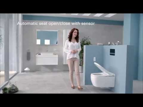 VitrA V-Care Essential Shower Toilet and Seat