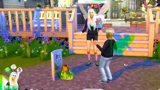 School Science Project  ! Fairy Family SIMS 4 Game Let's Play  Video Part 36