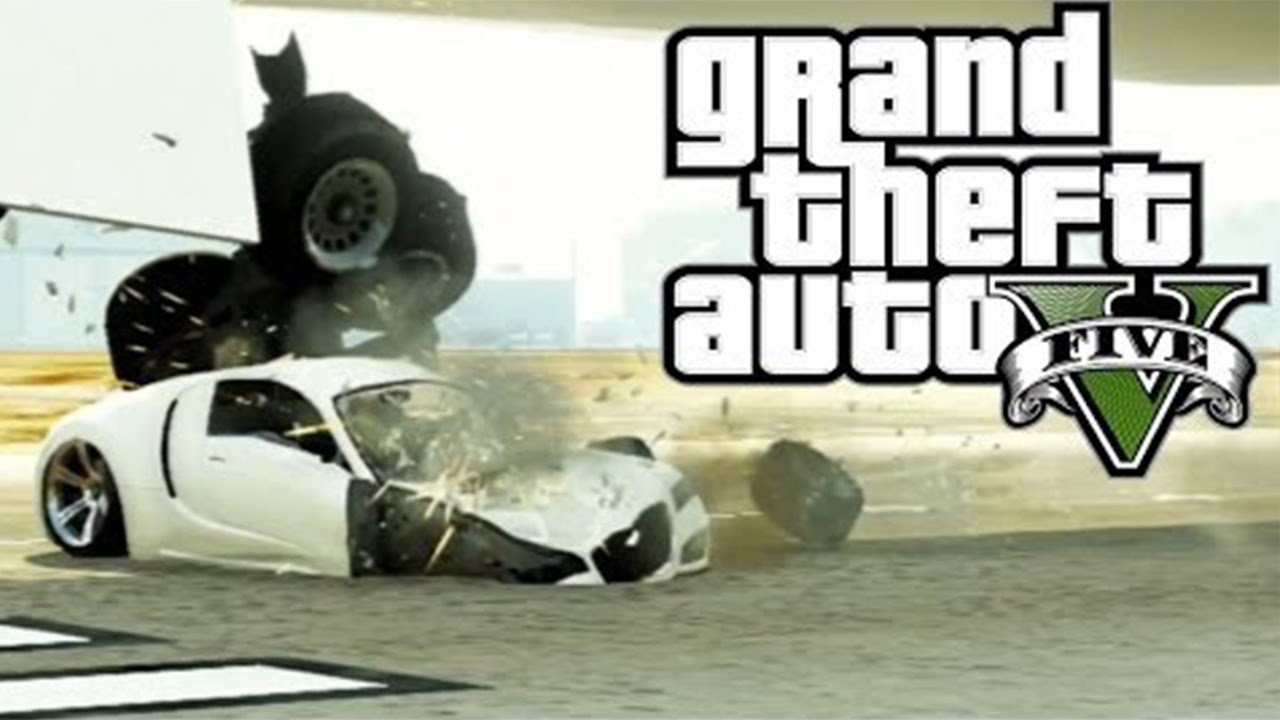 Gta  Car Crashes And Accidents