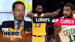 The Herd 2/8/2019 - Chris Broussard reacts to Lakers vs Celtics, Anthony Davis & NBA trade deadlin