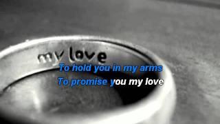 Westlife - My Love  karaoke with lyrics