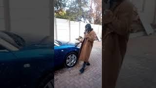 Wazzyno Aka Baba Rihanna on his New Baby Car washing Sunday.