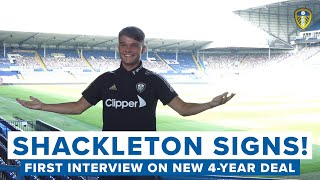 """SHACKLETON SIGNS NEW CONTRACT   """"It's amazing to have another four years at this club"""""""