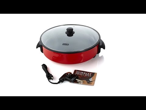 video Dash Family Size Rapid Heat Electric Skillet Review ❤️ and Price