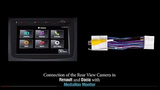 Activate Rear camera view and Rear Speaker in MediaNav-Kwid