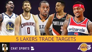 5 Players The Lakers Could Trade For During 2019-20 NBA Season Feat. Bradley Beal & D'Angelo Russell