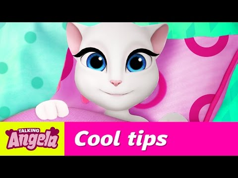 Talking Angela's Cool Tips for Getting up (Become a Morning Person!)