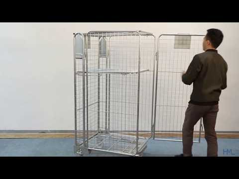 Wire Mesh Roll Container Manufacturers in China