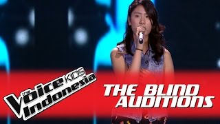 """Stephanie """"Jar of Hearts"""" I The Blind Auditions I The Voice Kids Indonesia 2016"""