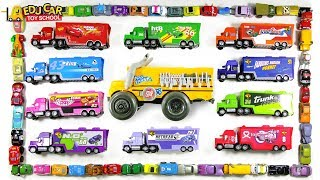 Learning Color special Disney Pixar Cars Lightning McQueen mack truck play for kids car toys