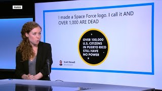 'Space Farce'? Alternative logos for new US military branch flood social media