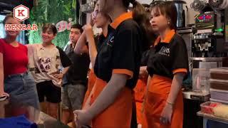 Training nhân viên quán trà sữa Bí Đỏ - Quy trình phục vụ chuẩn - Kenbar