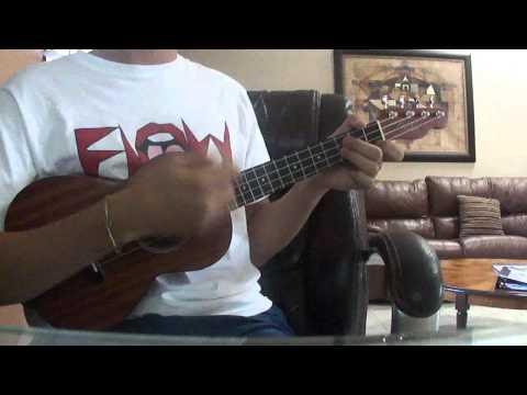 Muerte en Hawaii - Calle 13 UKULELE (cover) (tutorial) @tono_delgado