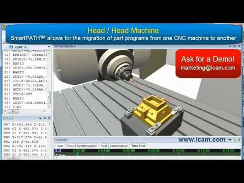 SmartPATH Optimization and Migration for CNC Simulation and Post-processing