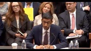 🚨Google CEO Sundar Pichai CHOKES on his LIES at House Judiciary Committee Testimony