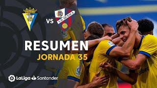 Resumen de Cádiz CF vs SD Huesca (2-1)